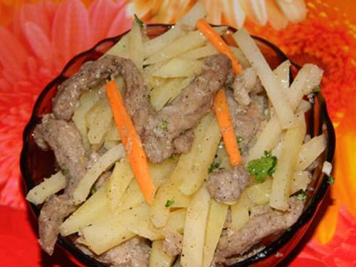 рецепт салата хе без мяса