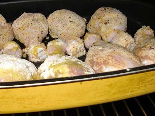 Куриные голени в духовке