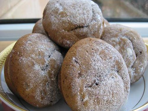 Рецепт мини кексов изюмом