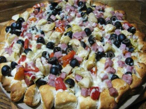 Пицца с моцареллой