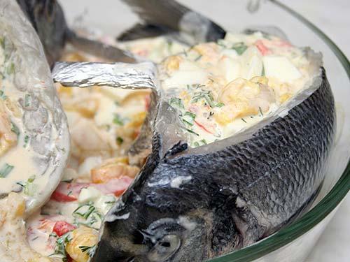 Линь в духовке рецепт с фото